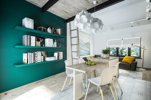 2 ngôi nhà nhỏ có gác lửng chưa đến 15m² với thiết kế đáng để học tập