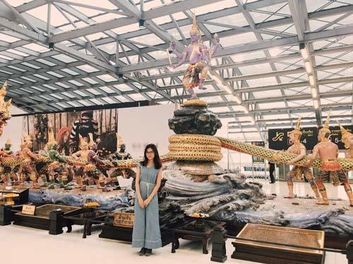 Theo chân Á hậu Thùy Dung khám phá đất nước Thái Lan