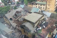 Biệt thự cổ 107 Trần Hưng Đạo: Sập 1 năm vẫn chưa rõ nguyên nhân