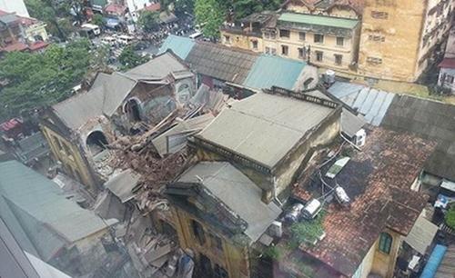 sập biệt thự cổ, sập biệt thự Trần Hưng Đạo, Tổng Công ty Đường sắt Việt Nam