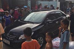 CSGT truy đuổi tài xế không bằng lái, lao vào khu dân cư