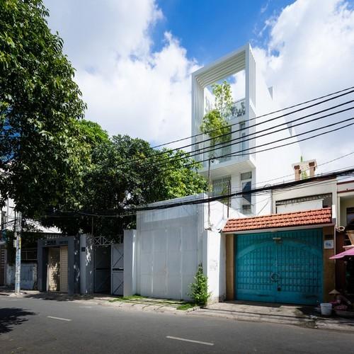 thiết kế nhà, thiết kế nhà ống, nhà ống Sài Gòn, thiết kế nhà cho 3 thế hệ