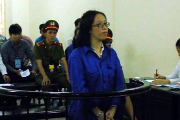 Nữ phó phòng ngân hàng liên quan bầu Kiên hầu tòa