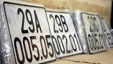 Dấu chấm ở giữa biển số xe 5 số có ý nghĩa gì?