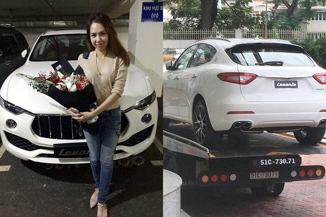 Nữ đại gia xinh đẹp 'đập hộp' Maserati Levante 5 tỷ đầu tiên tại Việt Nam