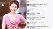 Lại thêm Hoa hậu Việt nói tiếng Anh khiến khán giả hết hồn