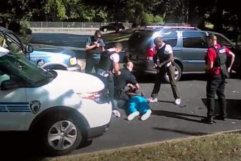 cảnh sát bắn người da màu