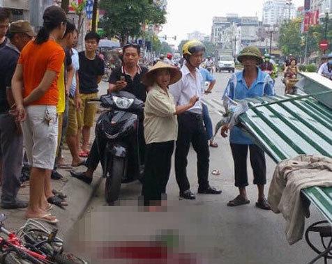 Vụ bé trai bị tôn cứa cổ: Tạm giữ hình sự lái xe xích lô