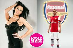 """Thắng tưng bừng, Arsenal được siêu mẫu """"bung lụa"""" chúc mừng"""