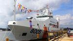 Cảnh sát biển VN tiếp nhận tàu có sân đỗ trực thăng