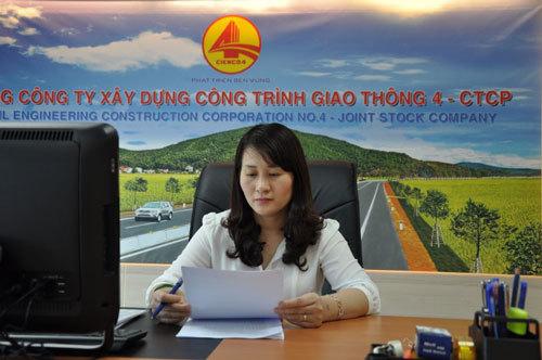 Vợ phó chủ tịch Nghệ An làm sếp lớn Cienco 4