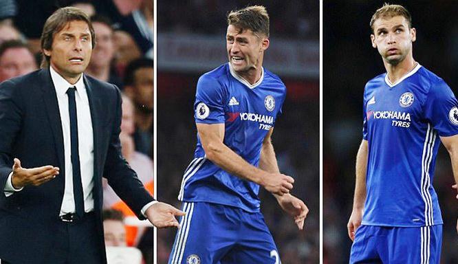 Conte điên tiết, 'trảm' 2 hậu vệ cứng của Chelsea