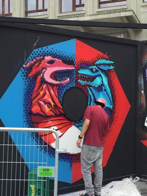 Khi nghệ thuật đường phố tấn công thế giới xa xỉ