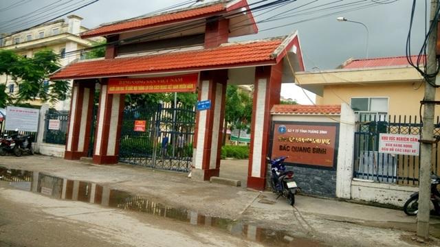 bệnh viện đa khoa Bắc Quàng Bình, sản phụ tử vong sau mổ đẻ, đẻ mổ, sản phụ tử vong
