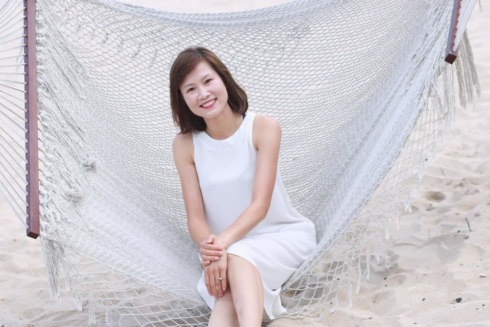Hình ảnh Ngọc Châm đẹp không thua kém người mẫu chuyên nghiệp