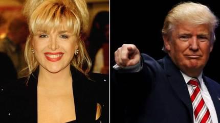 Trump 'mượn' bồ cũ của Bill chọc tức Hillary