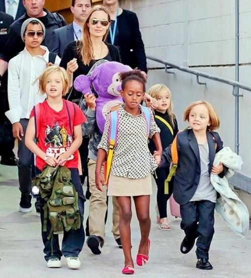 Angelina Jolie ly hôn Brad Pitt, biệt thự Angelina thuê sau khi ly hôn