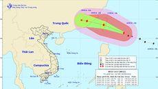 Bão giật cấp 17 hướng vào đông bắc Biển Đông