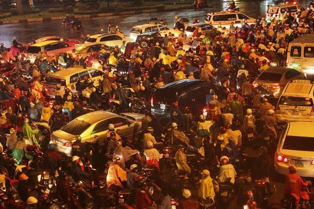 Mưa dữ dội, Sài Gòn lụt lịch sử