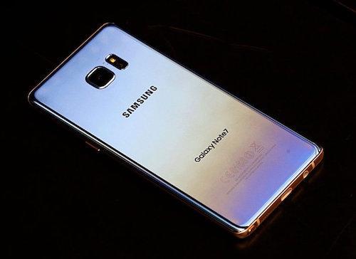 Pin Galaxy Note7 bản thay thế tụt nhanh như lao dốc?