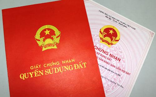 sổ đỏ, giấy chứng nhận quyền sử dụng đất, bồi thường giải phóng mặt bằng