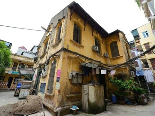biệt thự cổ, nhà cổ Hà Nội, biệt thự số 59B phố Hai Bà Trưng, biệt thự số 65B phố Trần Quốc Toản