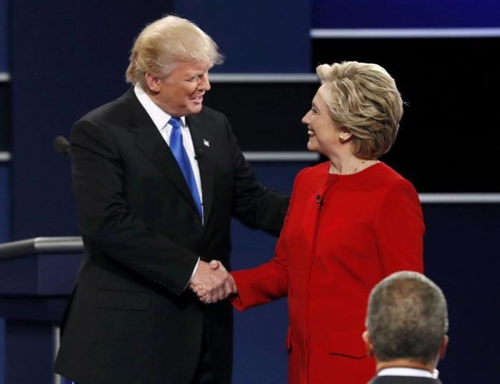 Trump, Hillary, ý đồ, thời trang, tranh luận,đàn ông