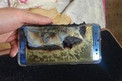 Galaxy Note 7 vẫn nổ tan xác pháo dù được thay pin mới