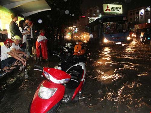 mưa ngập Sài Gòn, giải pháp chống ngập, dự án ngăn triều