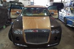 Rolls-Royce Phantom tự chế 200 triệu của thợ Việt