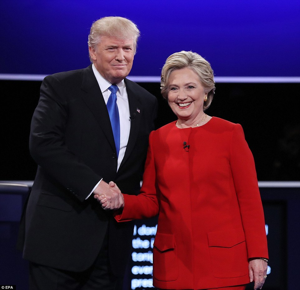 Hillary chiến thắng Trump