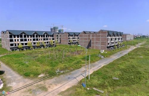 biệt thự nghìn tỷ bỏ hoang, khu đô thị Kim Chung - Di Trạch, dự án bỏ hoang