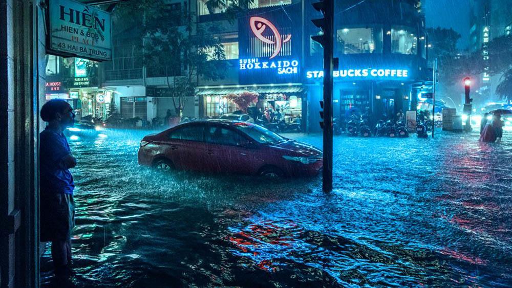 nước sạch, TPHCM, ngập lụt
