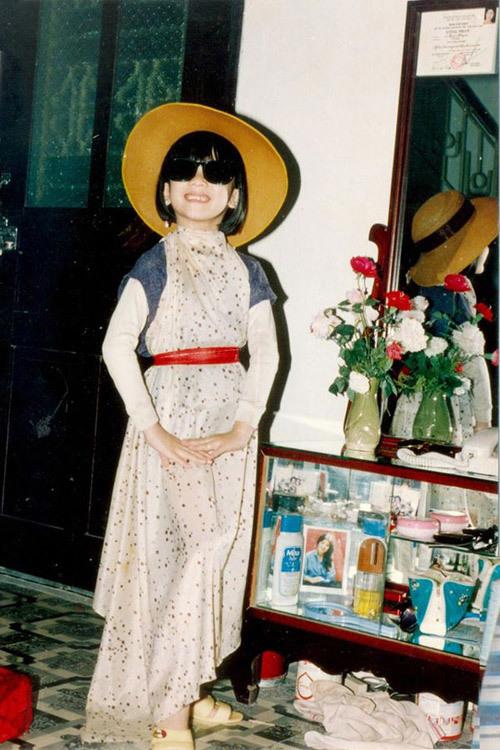 Chí Trung, con gái Chí Trung