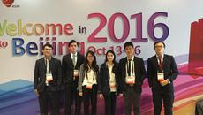 Sinh viên Việt thuyết trình tại Hội nghị tim mạch quốc tế