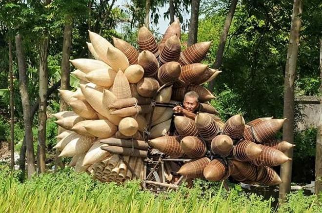 Làng nghề đan đó hơn 200 năm tuổi