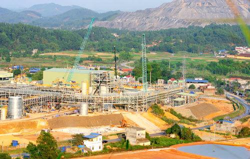 Núi Pháo, Đại Từ Thái Nguyên, vonfram, Bộ Tài nguyên Môi trường