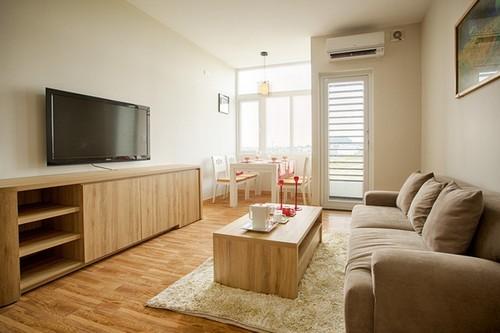 Căn hộ 50m² cho gia đình 3 người 'không góc chết' đẹp như phòng khách sạn ở Đà Nẵng