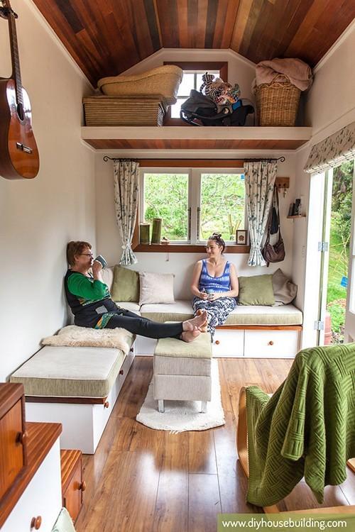thiết kế căn hộ, bài trí nội thất cho nhà nhỏ, nhà 17m2