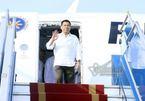 Tổng thống Philippines đến sân bay Nội Bài