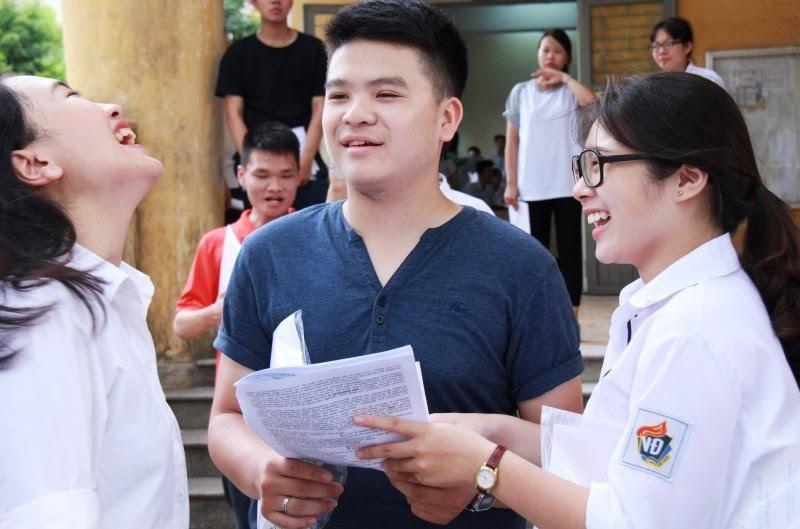 Bùi Văn Ga, Kỳ thi THPT quốc gia, thi trắc nghiệm môn, thi tốt nghiệp THPT quốc gia 2017, thi trắc nghiệm môn Toán,