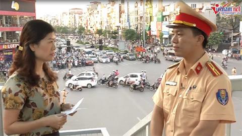 Thảm cảnh tắc đường trong mắt sếp phó CSGT Hà Nội