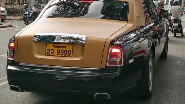 Rolls-Royce Phantom Series II màu độc, biển 'tứ quý' trên phố Sài thành