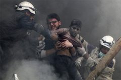 Hình ảnh khắc họa cơn ác mộng kinh hoàng ở Aleppo