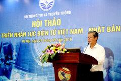 Bộ TT&TT: Phát triển nguồn lực con người là ưu tiên số 1