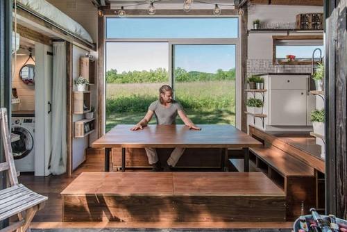 trang trí nhà, nội thất cho nhà nhỏ, trang trí căn hộ 18m2
