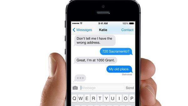 iMessage, Apple, app nhắn tin, theo dõi người dùng