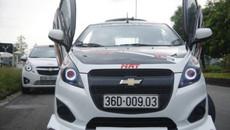 """Chevrolet Spark giá 279 triệu """"lột xác"""" siêu xe tại Thanh Hoá"""