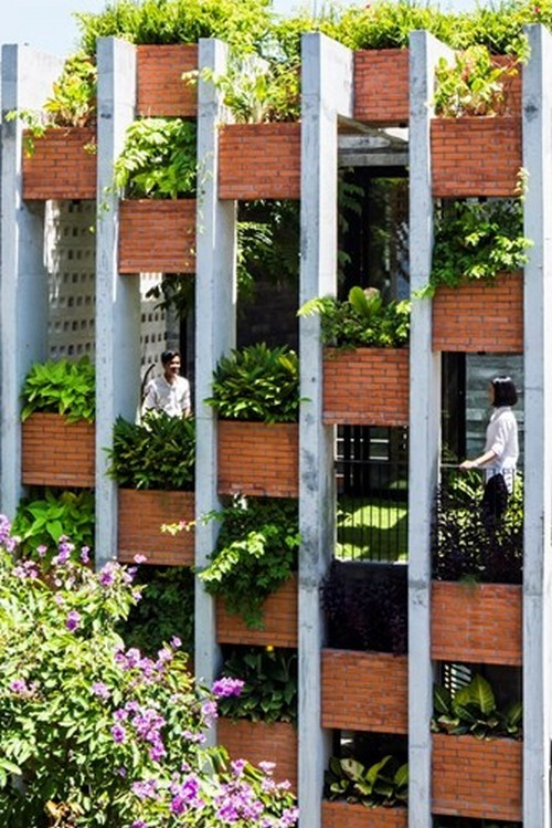 Nhà giống resort ở Đà Nẵng, kiến trúc, Resort in house