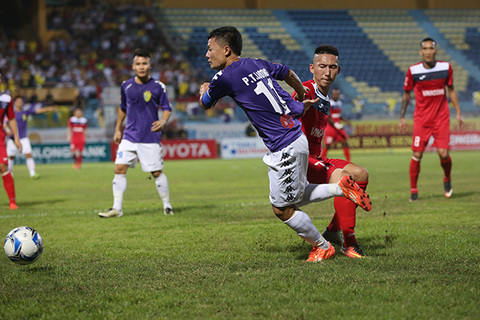 Video bàn thắng Hà Nội T&T 1-2 Than Quảng Ninh